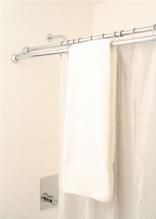 Marvelous Duo Shower Curtain Rod