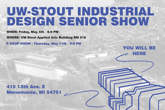 Idsa wi uw stout industrial design senior show for Industrial design news