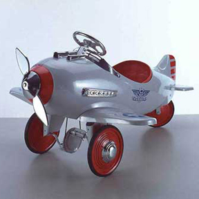 Pedal Pursuit Plane
