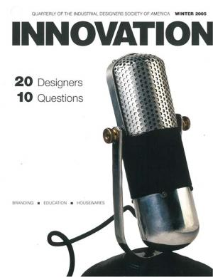 Innovation: Winter 2005