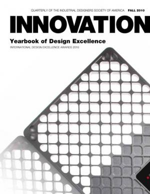 Innovation: Fall 2010 Yearbook of Design Excellence